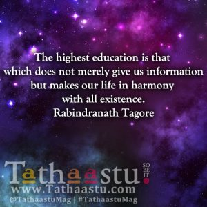 The highest education is that which does no
