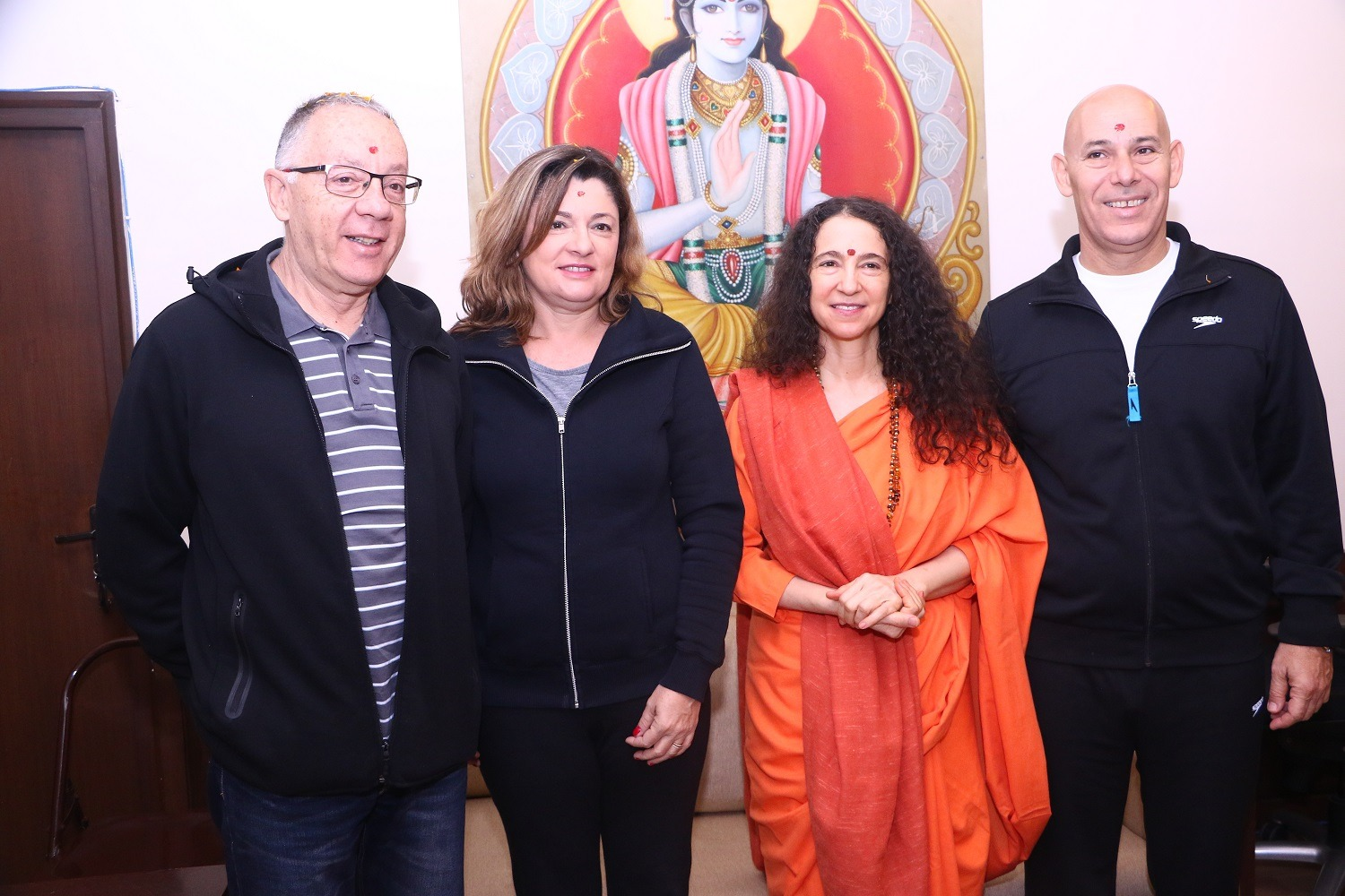 ambassador meeting with Sadhviji
